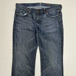 7 For All Mankind Women Size 34 Bootcut Jeans